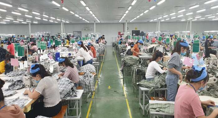 Hansc&co, Vietnam garment factory